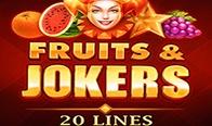 Jogar Fruits & Jokers - 20 Linhas