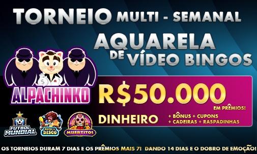 Torneio Multi Semanal Aquarela