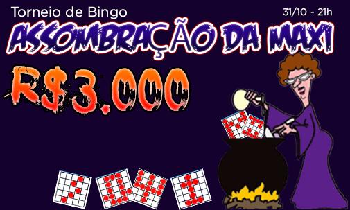 Torneio Halloween Maxi - R$3.000