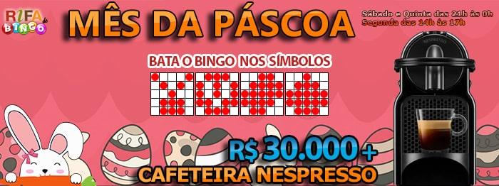 30 mil e Cafeiteira Nespresso