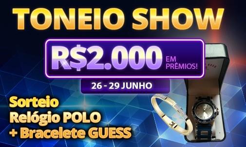 Torneio Show 26 a 29/06