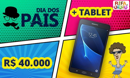 40 Mil da Maxi e Tablet Samsung