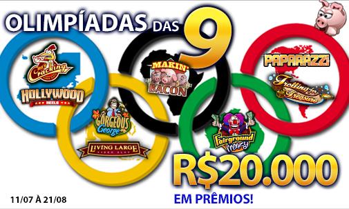 As 9 Olímpicas - R$20.000 em prêmios