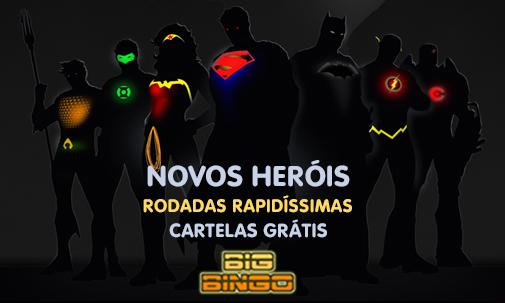 Novos Heróis, Novas Rodadas, Muitos mais prêmios.