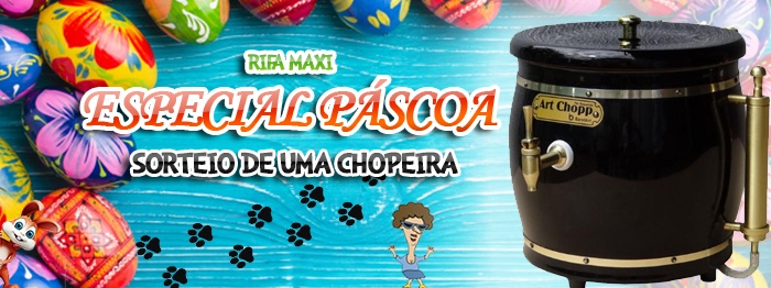 Rifa Maxi da Páscoa 2019