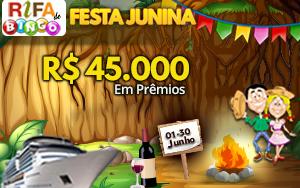 Rifa de Bingo Junina