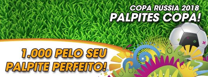 Copa 2018 - Palpite