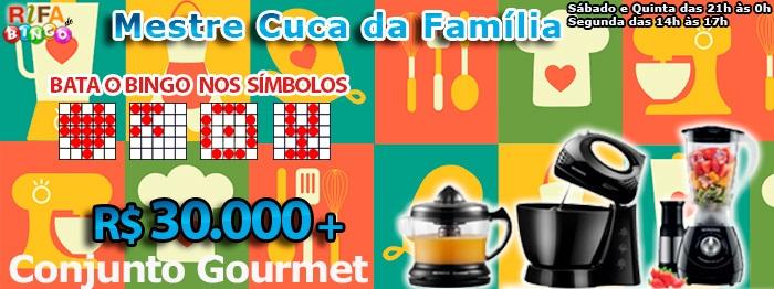 30 mil e Conjunto Gourmet!