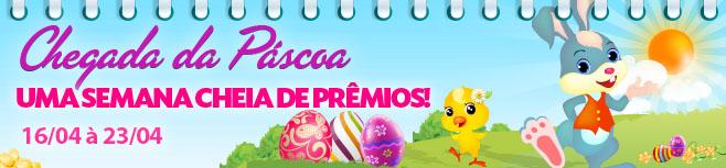 Presente Diário de Páscoa - Entramos no prazo de resgate dos ovos - até 23/04!