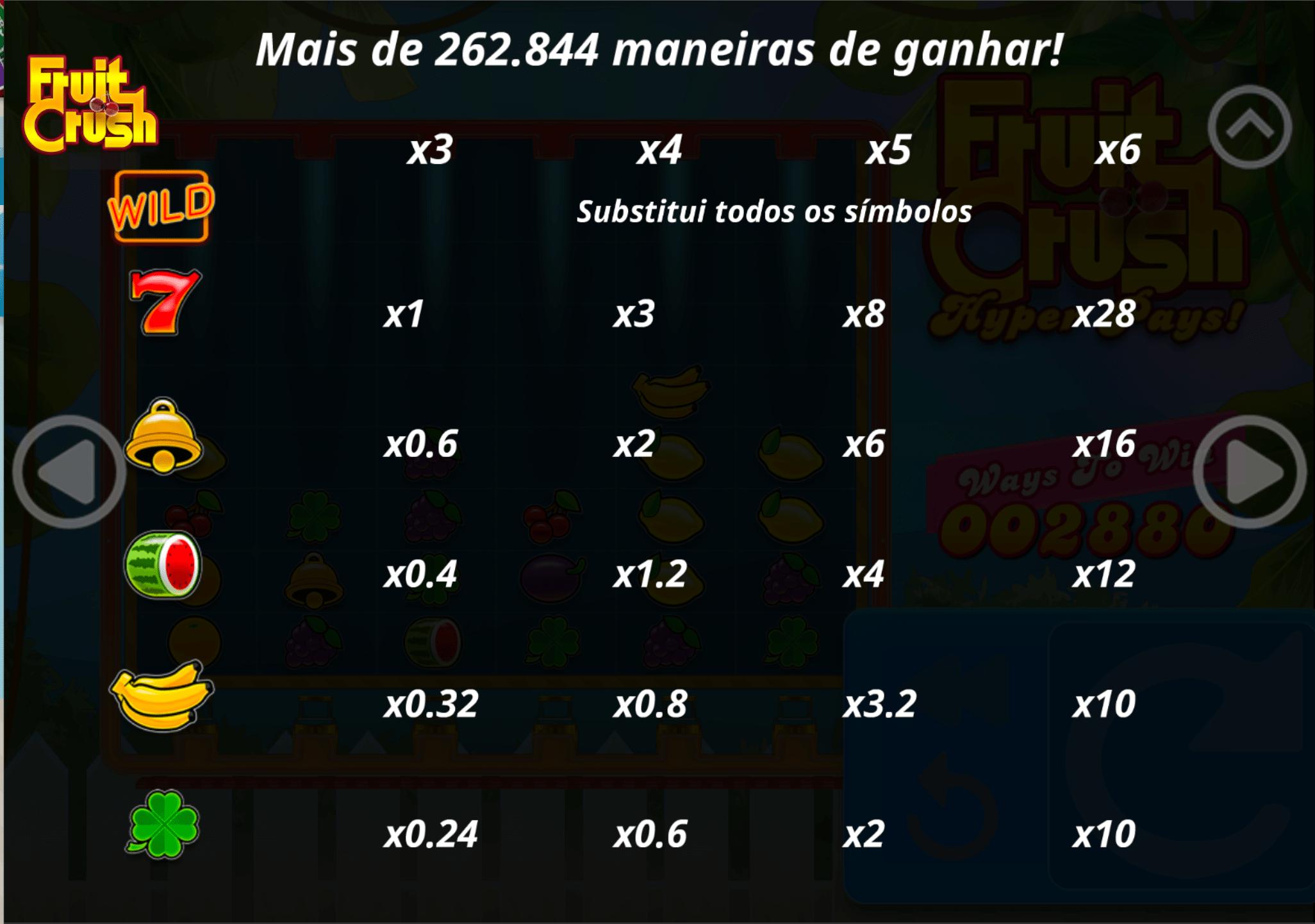 Fruit Crush - 15 mil na competição!
