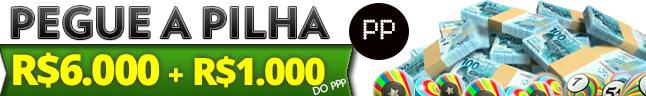 Pegue a Pilha, mais de R$7.000,00 em prêmios Grátis!