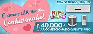 Rifa de Bingo Maxi – Especial Dia dos Namorados 2019!