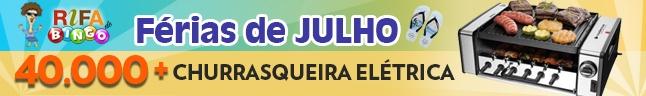 Rifa de Bingo Maxi – Férias de Julho 2019!