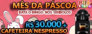 Rifa de Bingo – 30 mil e sorteio Surpresa todo mês!