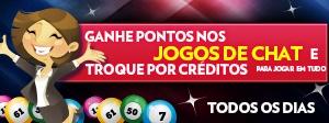Ganhe Pontos nos Jogos de Chat e Troque por Créditos!