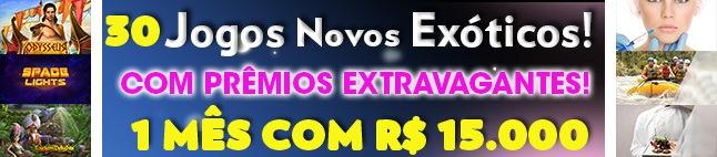 Jogos Exóticos, Prêmios Extravagantes Novos no Brasil!
