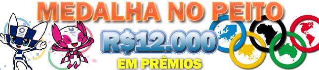 Medalha no Peito - R$12 mil!