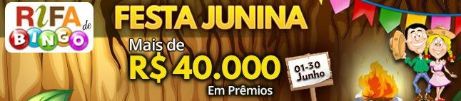 Rifa de Bingo: Festa Junina!