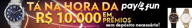 TÁ NA HORA de ganhar R$10.000, Relógios e conhecer a P4F!