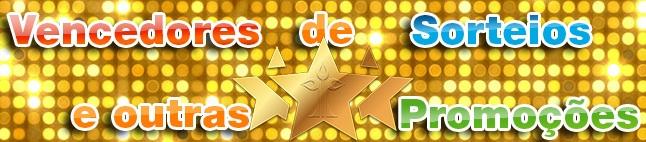Vencedores de promoções